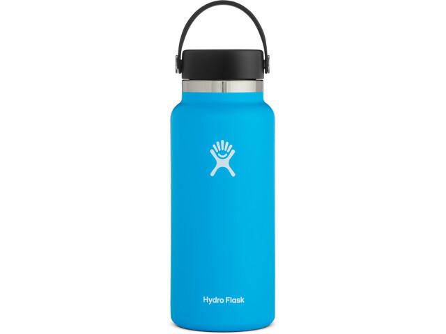 Hydro Flask Wide Mouth Bidón con Tapa Flex 946ml, azul
